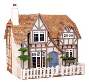 Glencroft Dollhouse Kit by Greenleaf Dollhouses