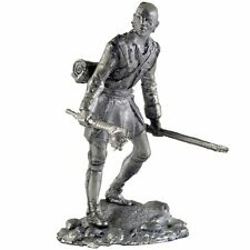 Indian. Seneca tribe. Tin toy soldiers 54mm miniature figurine. metal sculpture