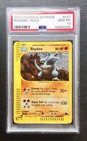 Pokemon PSA 10 Rhydon Holo Skyridge #H27/H32 Gem Mint
