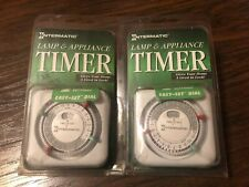 Intermatic Lamp and Appliance Timer TN111C61 Twin Pack Stock from 1996 Brand New
