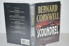 ** Rare Signed Copy ** Bernard Cornwell Scoundrel 1st UK Edition 1992