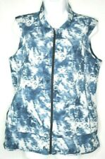 Lululemon Athletica Cycling Jersey Womens 10 Large Blue Full Zip Up 5 Pockets I