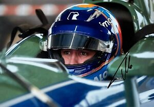 ***  FERNANDO ALONSO  -  CARLIN / CHEVROLET  -  SIGNED  -  INDY  ***  photo
