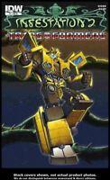 Infestation 2: Transformers #1 Variant C Idea + Design Works  VF/NM