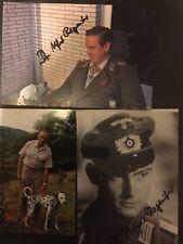 Dr Alfred Regeniter Signed Pics & Bio