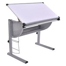 Drafting Table Drawing Desk Adjustable Art & Craft Hobby Studio Architect Work