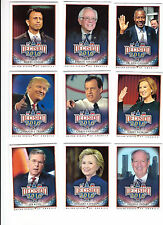 Decision 2016 Trading Cards Set of 110 Cards Donald Trump Hillary Clinton