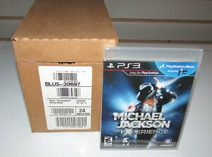 Lot of 24 Michael Jackson: The Experience Games Sealed Case (PlayStation 3)