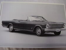 1966 FORD GALAXIE 500 XL CONVERTIBLE   12 X 18  PHOTO  PICTURE