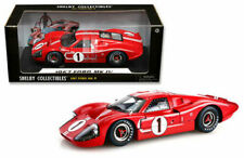 SHELBY COLLECTIBLES 1:18 FORD MK IV #1 1967 DIE-CAST RED 423