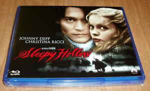 Sleepy Hollow Blu-Ray New Sealed Horizontal Thriller (Sleeveless Open) a-B-C