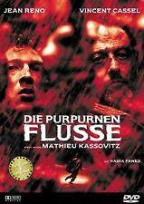 Die purpurnen Flüsse von Mathieu Kassovitz | DVD | Zustand gut