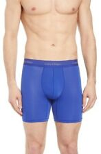 Calvin Klein Light Long Leg Boxer Briefs Blue Mens Large New