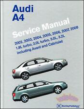 A4 Audi Shop Manual Service Repair Bentley Book Haynes Chilton B6 B7 (Fits: Audi)