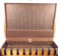 Wooden Flatware Storage Box Silverware Chest Wood Eureka Anti Tarnish Vintage