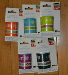 One Direction 1D Office Depot Against Bullying WASHI TAPE Harry Zayn Louis Liam