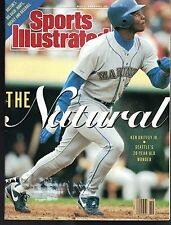Sports Illustrated 1990 Seattle Mariner Ken Griffey Jr. No Label Excellent Cond.