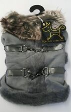 Aspen Dog Coat From New York Dog Signature Collection ~ XS Grey