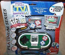 NEW! PLUG & PLAY World Poker Tour NO LIMIT TEXAS HOLD 'EM JAKKS PACIFIC 2004