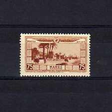 MAROC  Poste Aérienne n° 15 neuf avec charnière