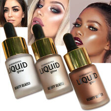 3D Liquid Glow Make Up Highlighter Cream Concealer Shimmer Face Bronzing Drop