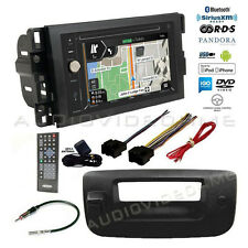 GPS Navigation USB Stereo+Backup Camera+Chevy Silverado/Sierra Radio Dash Kit