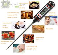 Termometro Digitale Professionale da Cucina con Sonda per Alimenti e Barbecue a