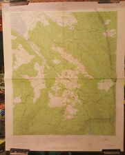 1939 Santa Ysabel, Calif, US Army Corps Of Engineers Map