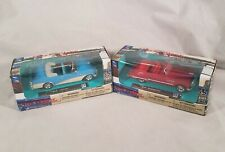 City Cruiser Collection Buick Red Roadmaster Blue Century 1:43 Diecast New 2019