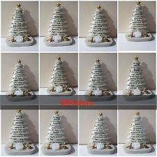 Christmas Xmas tree GRAVE Memorial Ornament ALL KINDS MUM/DA flickering tealight