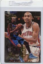 Grant Hill, Detroit Pistons, 1994/95 Fleer Flair Rookie Card #213