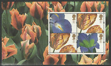 (GOG3) GB QEII Stamps THE GLORY OF THE GARDEN Prestige Booklet Pane ex DX33 2004