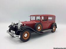 Mercedes Typ Nürburg 460  1928 rot/schwarz  - 1:18 MCG