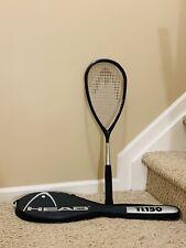 HEAD Ti.150 Titanium Squash Racket Racquet w/ Bag, Made in Austria - MINT!