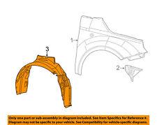 FIAT OEM 12-13 500-Front Fender Liner Splash Shield Left 5182487AC