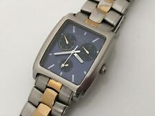 Nautica Watch Silver Gold Analog Multi Function Men Watch Japan Movt WR 50M