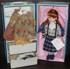 MADAME ALEXANDER ANNE OF GREEN GABLES GOES TO SCHOOL DOLL AND TRUNK SET 1579