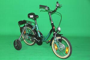 """Haverich 16"""" Zoll Dreirad Zweirad mit Kippstützen Therapierad Rad Fahrrad #114"""