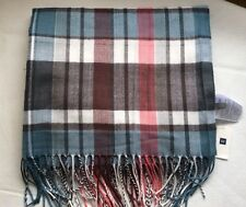 "GAP LARGE PLAID SCARF NWT MSRP $ 29.95 22"" x 78"" : 25% off!"