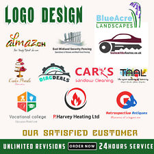 Professional Logo Design Cheap and RELIABLE Unlimited Revisions 24hr Service