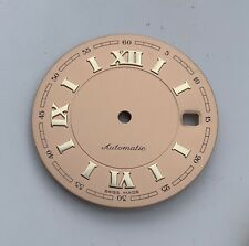DIAL FOR ETA 2892-2 / 2892a2 / 2824-2 AUTOMATIC 28.8mm ROSEGOLD ROSE, SWISS MADE