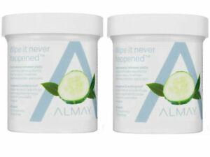 Almay Eye Makeup Remover Pads, Longwear and Waterproof 80 pads each 2 pack
