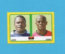 PANINI-AFRICA CUP 2008-Figurina n.274- LAMA+JAMBA-ANGOLA -NEW