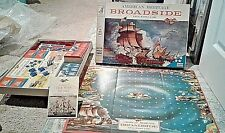 Vintage Milton Bradley American Heritage Broadside Naval Battle Board Game 4270