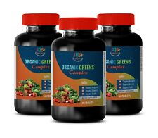 healthy immune system - ORGANIC GREENS COMPLEX - all day energy booster 3B