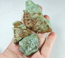306.3Ct Natural High-hardness American Green Blue Turquoise Rough Specimen YBL75