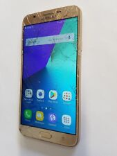 Metro Pcs Samsung Galaxy J7 Prime SM-J727T1 Gold Android Smart Cell Phone Gsm
