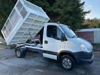 63 Iveco Daily C Class 2.3TD 35C11 MWB CAGED TIPPER  AUTOMATIC