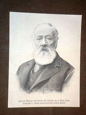 Antonio Santi Giuseppe Meucci di Firenze Inventore del telefono
