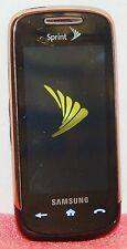 Samsung Instinct S30 Sprint Smart Phone LCD Touchscreen GPS SPH-M810 GOLD